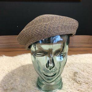 Brixton Audrey straw beret